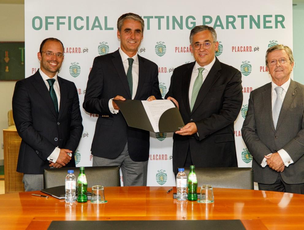 Placard.pt Patrocinador de Apostas Desportivas Sporting Clube de Portugal