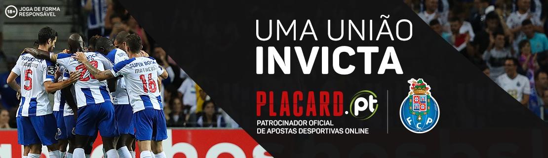 Placard.pt Patrocinador Oficial de Apostas Desportivas FC Porto