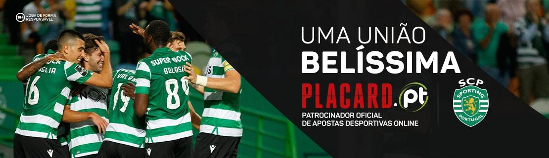 Placard.pt Patrocinador de Apostas Desportivas Sporting CP